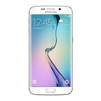 Samsung Galaxy S6 Edge 128gb Smartphone At&t Sm-g925azwfatt White Brand on sale