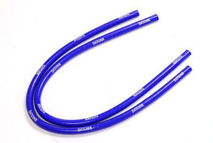 FLETCHER-CLASSIC-MINI-SILICONE-HEATER-HOSES-PIPES-1959-1992-BLUE-PAIR-Y3266B