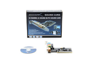 DRIVERS UPDATE: SABRENT SBT-SP6C SOUND CARD