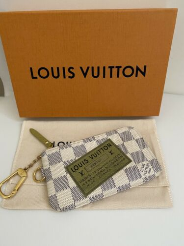 Authentic LOUIS VUITTON Damier Azur Portefeuille C