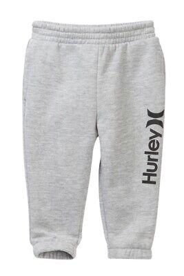 Hurley Infant Toddler Boy/'s 12M Blue Logo Sweatpants Bottoms Pants Core Joggers