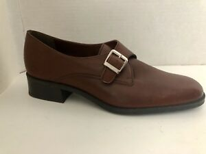 Naturalizer-Shoes-Womens-Size-7-M-Brown-Heels-7M-Loafers-Brazil
