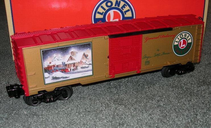 LIONEL CHRISTMAS GENERAL DELIVERY ANGELA TROTTA THOMAS BOXCAR