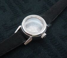 Ladies Old/Vintage/Retro Stainless Omega Watch Case w/period strap