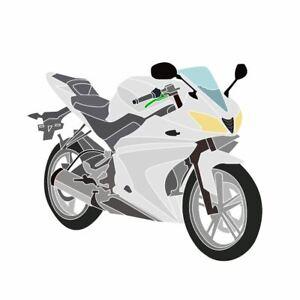 Yamaha-YZF-R125-2014-2015-Full-fairing-set-Unpainted