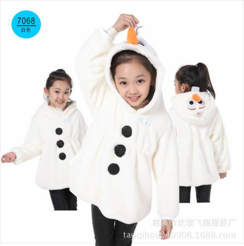 Frozen-Olaf-Deguisement-Unisex-Fancy-Dress-Costume-Cosplay-Kid-Pyjamas