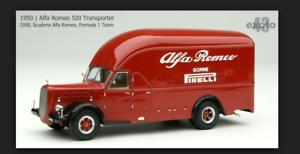 Envío 100% gratuito Alfa Romeo Trasporter Pirelli 1 1 1 43 Exoto EXO0002  diseño único