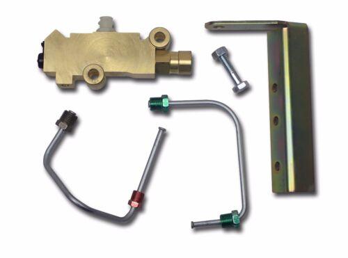 disc brake proportioning valve disc drum pv2  mounts below master cylinder