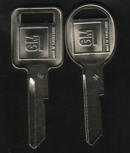 Buick-Cadillac-Chevy-Oldsmobile-Pontiac-1969-1973-1977-1981-GM-Key-Blanks