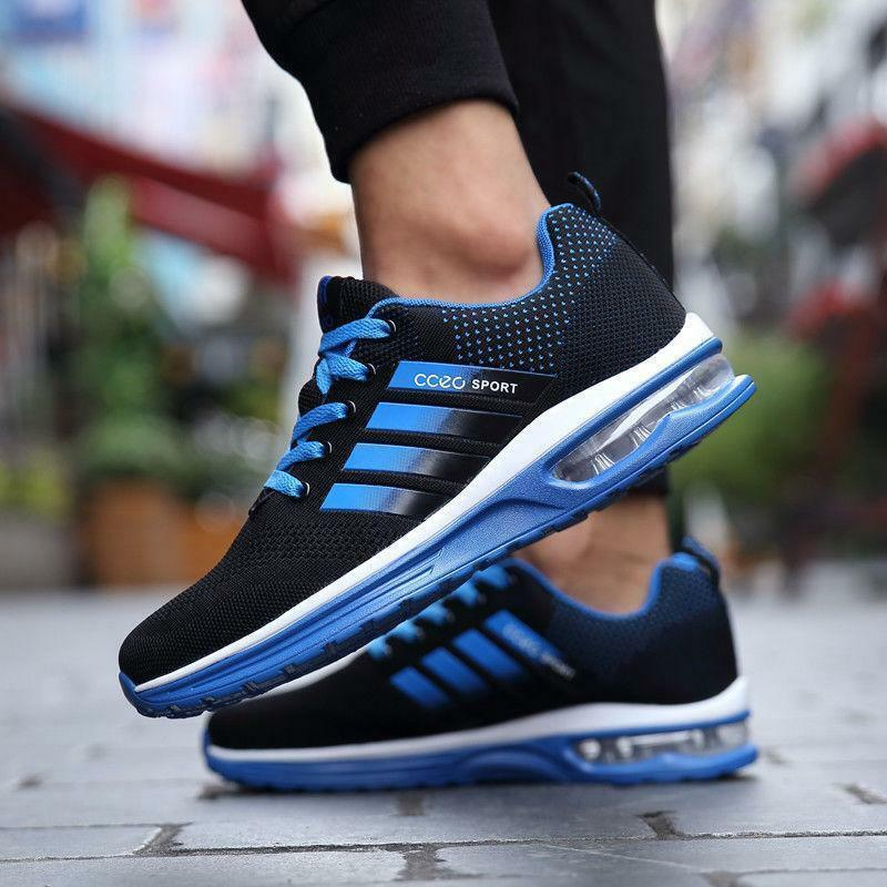 Men's Running Sneakers Breathable Outdoor Trainers Athletic Sports Mesh shoes