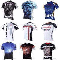 2016 Men Short Sleeve Bike Bicycle Top Team Tee Sport Wear Shirt Cycling Jersey
