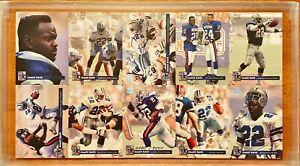 Emmitt Smith Dallas Cowboys Card Lot. All Cards are Emmitt Smith.
