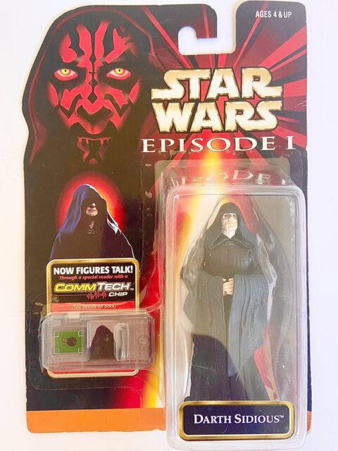 Hasbro Darth Sidious Holograph Action Figure for sale online