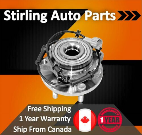 2008 2009 2010 For Nissan Pathfinder Front Wheel Bearing and Hub Assembly x1