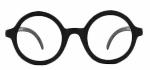 Fashion Cosplay Costume Glasses Dress Up Retro Round Eyewear Harry Potter NEW