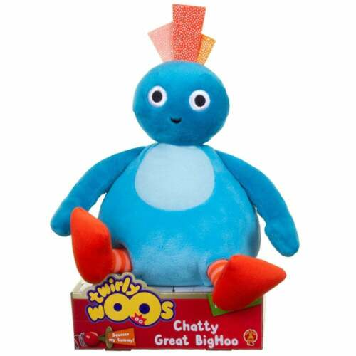 Chatty Talking Twirlywoos Blue Great BigHoo with Sounds /& Phrases Twirlywoos
