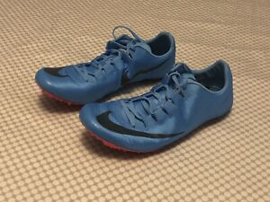 d8c41b26a82 Details about Nike Zoom Superfly Elite Mens Blue Track Spikes Size 12  (835996-446)