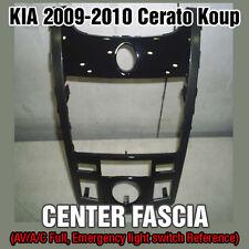 OEM Dash Board GPS Center Fascia Glossy Black For KIA 2009-2010 Cerato Koup
