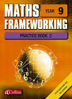 Maths Frameworking: Year 9: Practice Book 2 by Andrew Edmondson (Paperback, 2003)