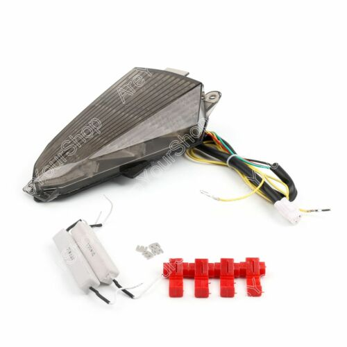 Taillight Tail Turn Signal Integrated Led Light For 2008-2016 YAMAHA YZF R6 T1