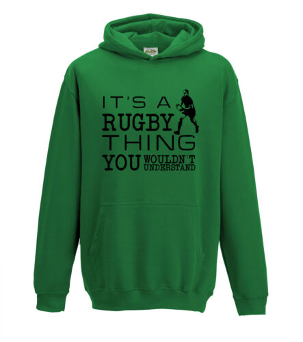 Kids It/'s A Rugby Thing You Wouldn/'t Understand 6 Nations 1323 Hoodie.