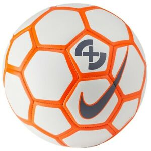 Details About Soccer Ball Nike Strike X 4 White Size 4 Football Fussball