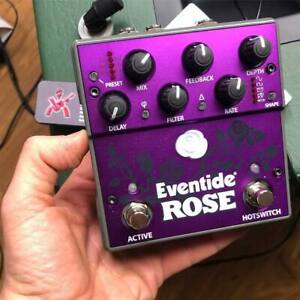 Eventide-Rose-Delay-Effect-Pedal-for-Guitar-Bass-used-comes-with-box