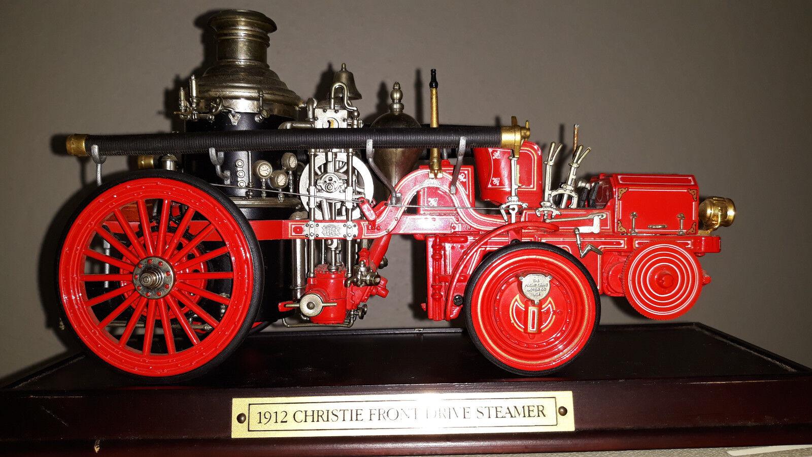 Voiture de pompiers Christie Front Drive Steamer - 1912 - 1 24 - Superbe repro -