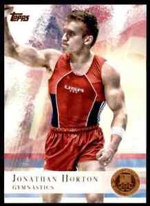 2012-TOPPS-OLYMPICS-COPPER-JONATHAN-HORTON-GYMNASTICS-80-PARALLEL