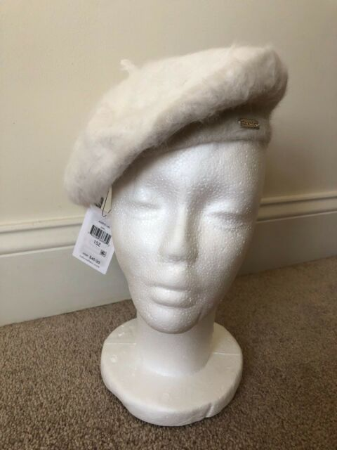 3901ea54 Buy Calvin Klein Womens Accessories Solid Angora Beret- One Size ...