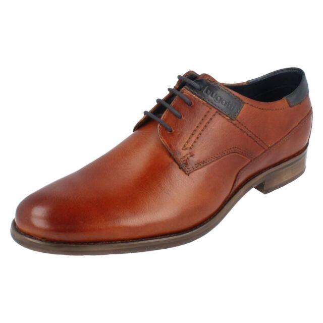 75db3beb469062 Mens Bugatti Shoes 31216302 EU 45 Cognac 100 Leather for sale online ...