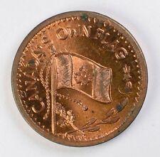 Canada's Own Flag Approved on Dec. 15, 1964 Token Medal Medallion (Maple Leaf)