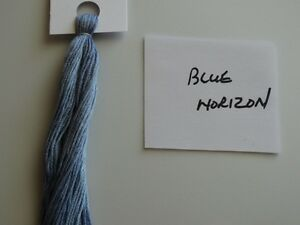 20yards Ice Blue DMC CONVERSION 3753 Over-dyed,embroidery floss