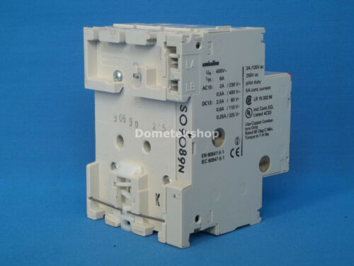 ABB MS 325 690V Manual Motor Starter 1.6-2.5 Amp with SBH11