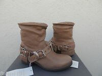 Ugg Collection Aria Chestnut Leather/ Shearling Boots, Us 5/ Eur 36