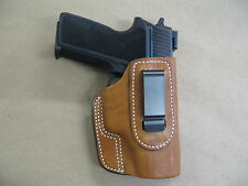 Sig Sauer P 228 , 229  IWB Leather In The Waistband Concealed Carry Holster TAN