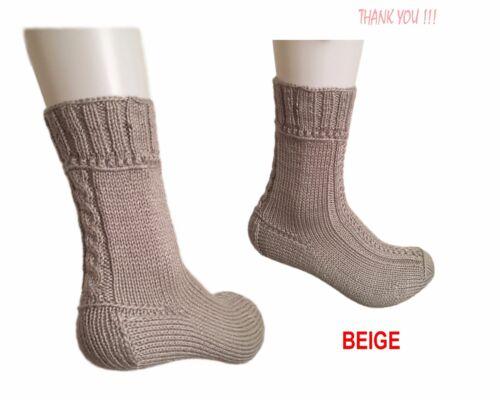 Men/'s Clothing Handmade Soft Handfeel Tick Sock 40-44 Comfortable