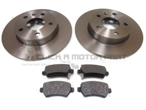 VAUXHALL ASTRA H MK5 1.9 CDTI 120 150 SRi MINTEX REAR BRAKE DISCS AND PADS SET