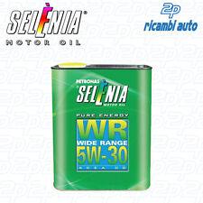 OLIO MOTORE SELENIA PURE ENERGY WR 5W30 2 LITRI ORIGINALE 2 LT OFFERTA SUPER