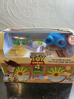 Brand-new Disney Pixar TOY STORY 4 Limited Edition Toy Story In A Box 10 Pc