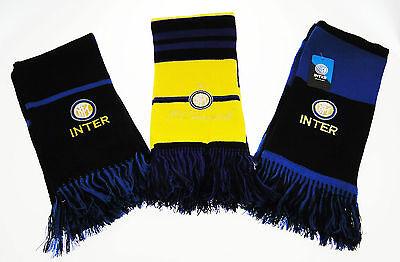Collezione Qui Sciarpa Inter Originale Ufficiale Internazionale Tubo Sciarpe Caldo 3 Varianti