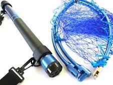 PRO TRUST RUN GUN ARM blue 300 270cm Telescopic fishing carrying landing net