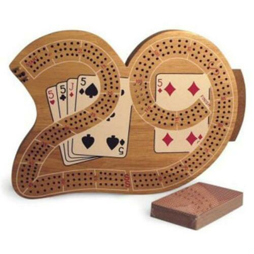 3 Player 29 Cribbage Board in Wood