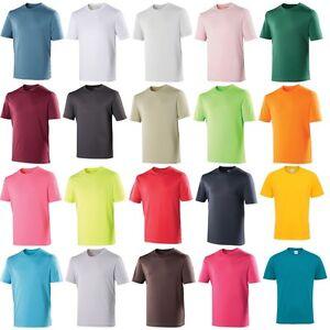 28cd2145f Mens AWDis Plain 100% Polyester T Shirt for Sublimation Print (30 ...