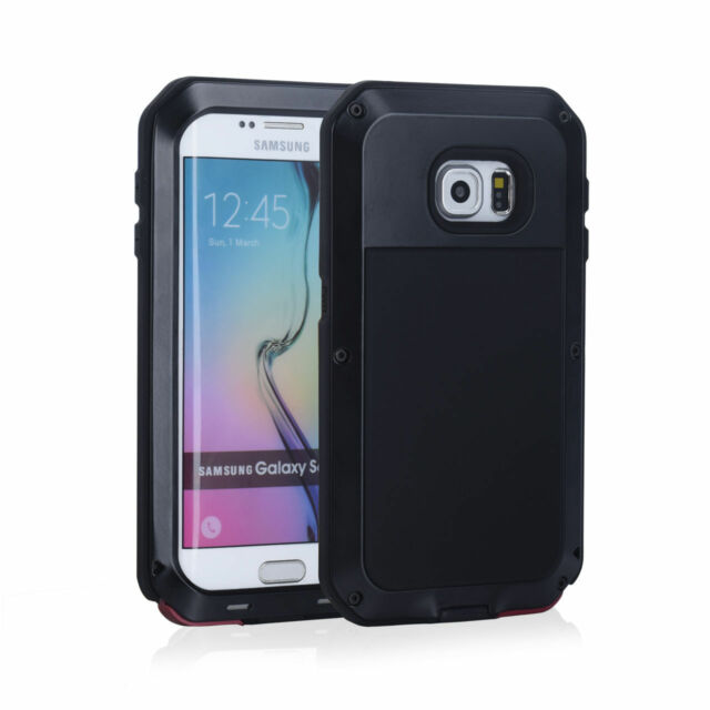 Waterproof Shockproof Aluminum Gorilla Glass Metal Cover Case For Samsung Models