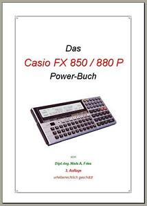 CASIO-FX-850-P-880-P-Power-Buch-mit-Software-Pool-Disk-deutsch