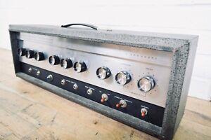 Sears-Silvertone-1485-Amplifier-Vintage-Tube-Guitar-Amp-Head-church-owned