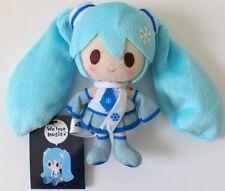 Snow miku mascot Plush Doll we love music Hatsune Miku new Hokkaido 5inch