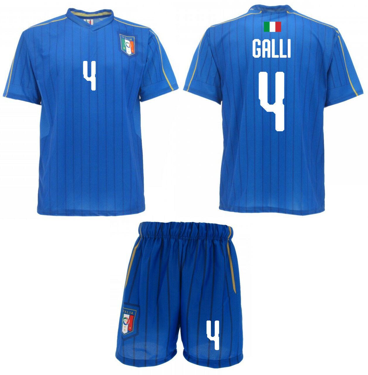 Maglia Calzoni GALLI Ufficiale Italia Nazionale azzurra Donne 4 AURORA