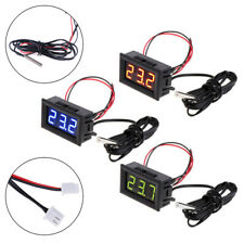Digital 12v Temperature Monitoring Thermometer Meter With Temp Probe 501 Ag